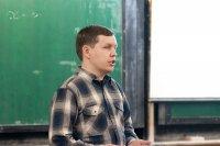Сергей Петрович Поспелов (компания EMC) делает пленарный доклад